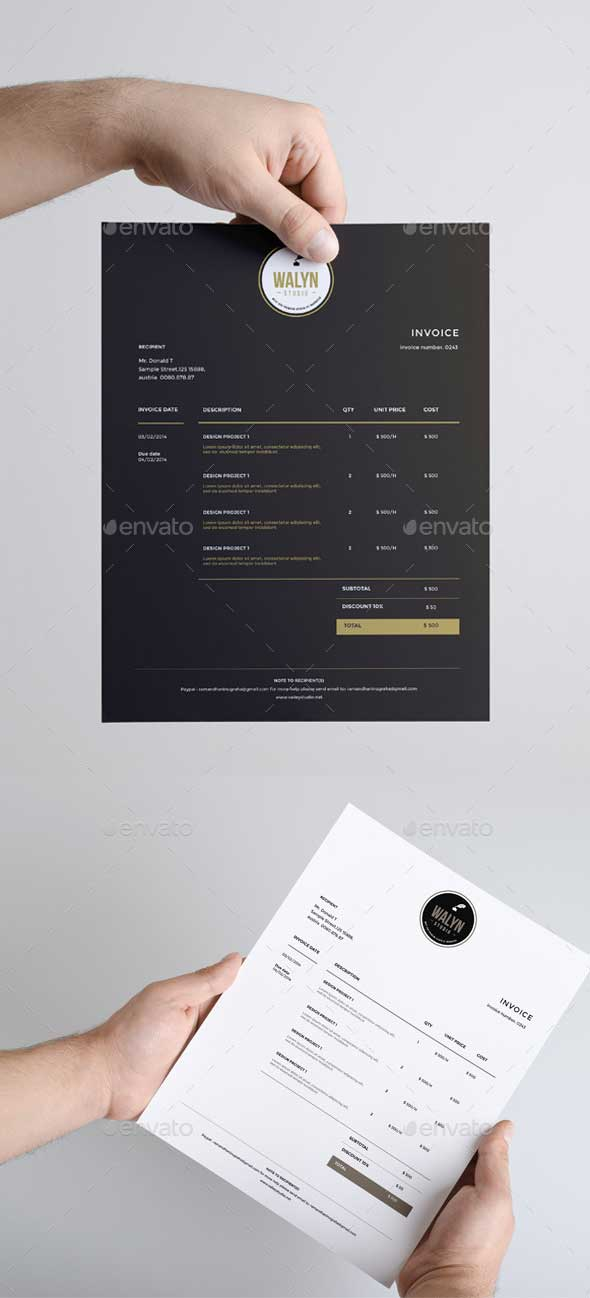 clean-invoice-template