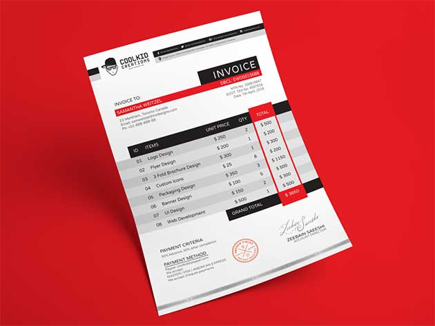 free-professional-business-invoice-design-template