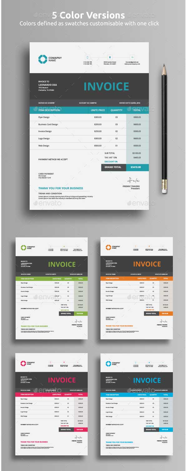 professional-invoice-templates