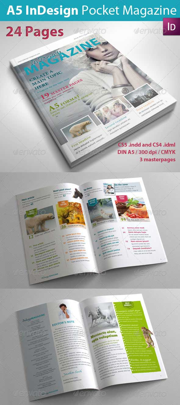 a5-indesign-magazine-template