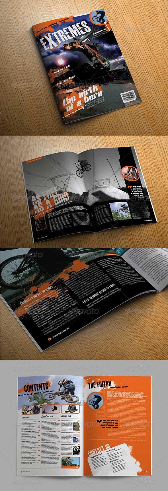 extreme-magazine-template