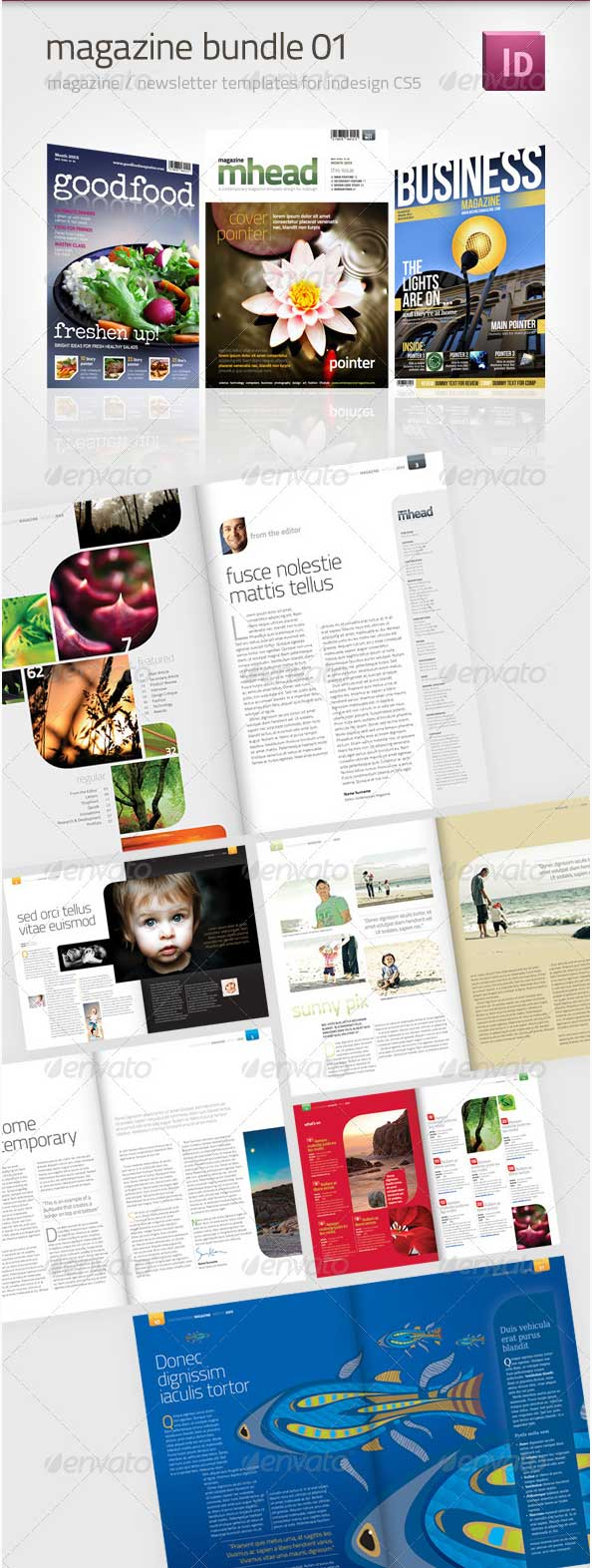magazine-template-bundle