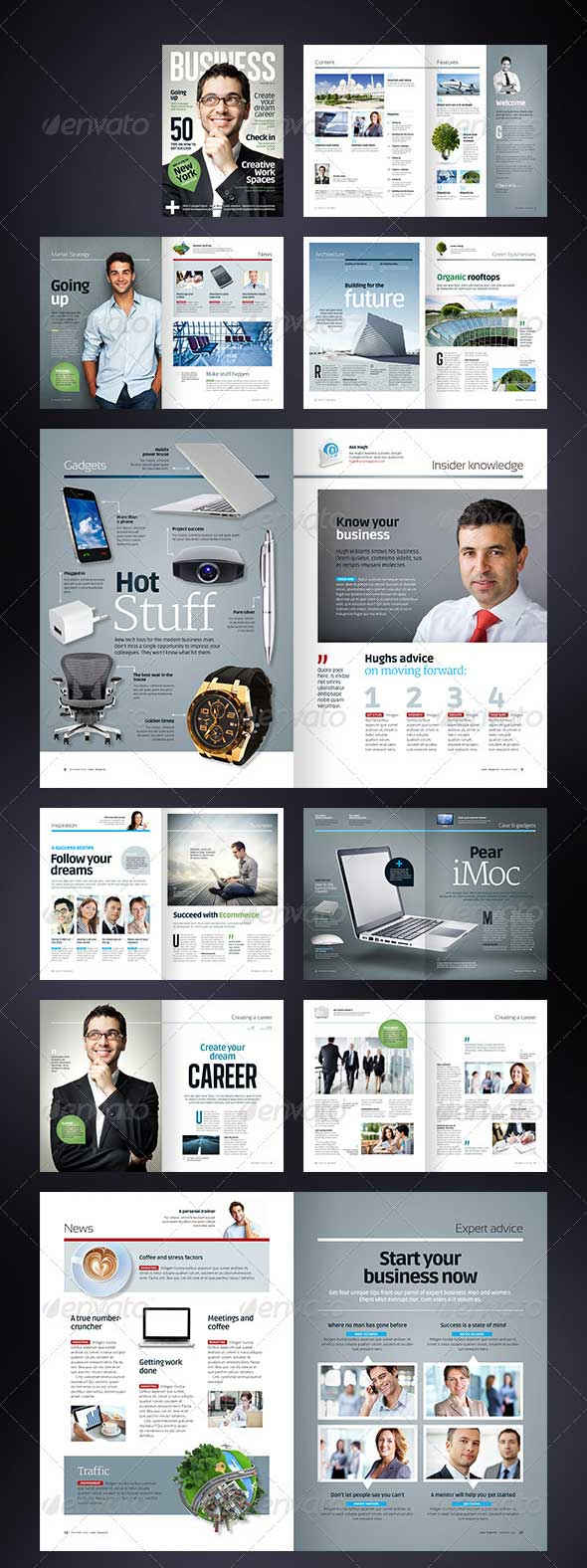 business-magazine-template-a4-letter-40-pages