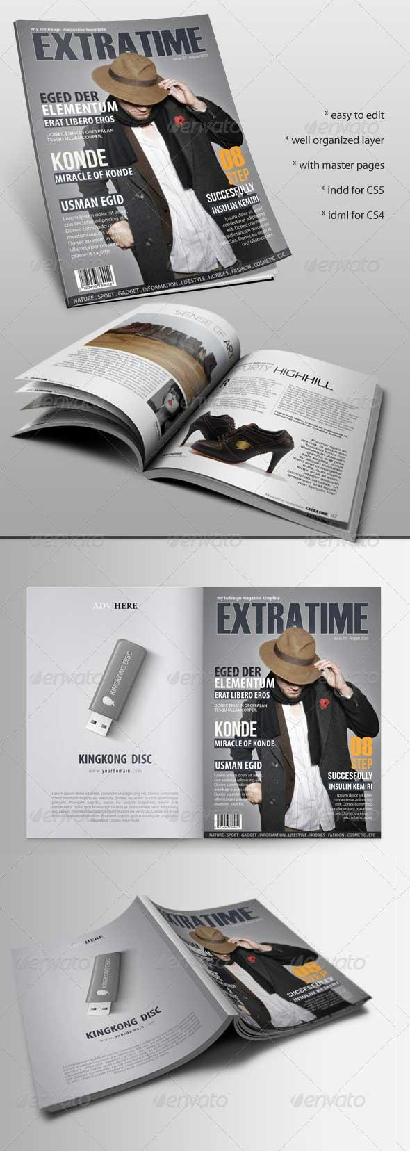 extratime-magazine-template