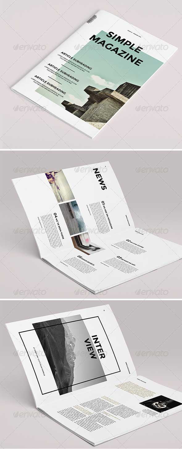 simple-magazine-template