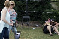 <p>Jaime Combs and Carla Lewis at Knoxville PrideFest on Saturday, June 20, 2015.      (SAUL YOUNG/NEWS SENTINEL)</p>