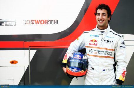 riccihis 455x300 - Ricciardo Biography