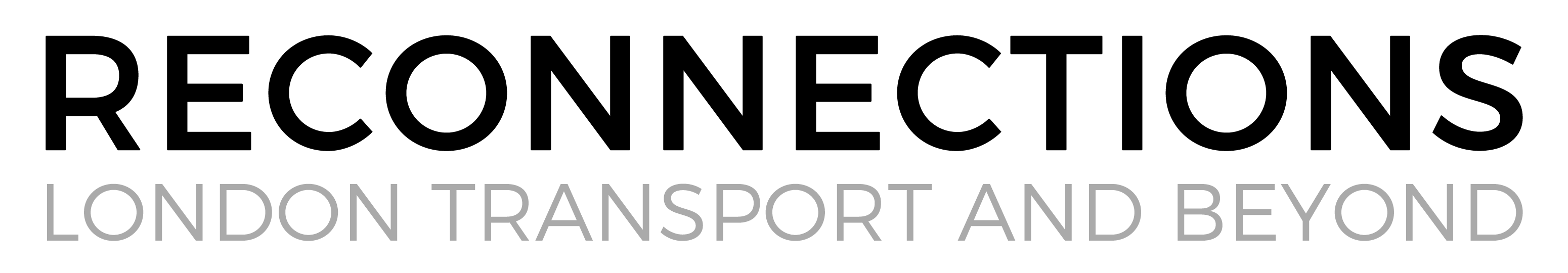 London Reconnections - Covering transport topics in and around London