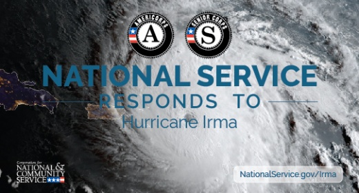 National Service ready to respond to Hurricane Irma