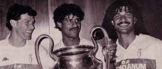 Van Basten, Rijkaard y Ruud Gullit