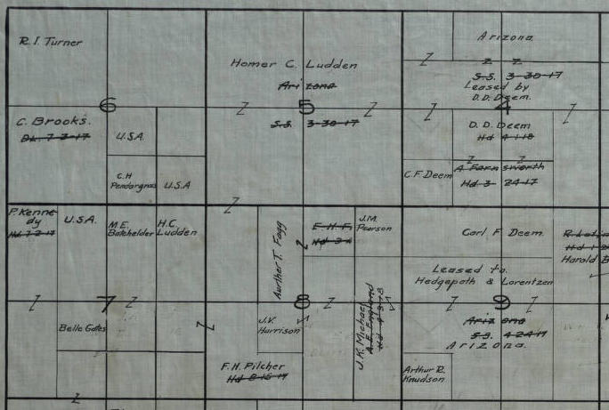Ludden map