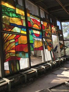 Pripyat Cafe Stained Glass Window