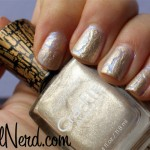 Gold Gilded Pearly Nails