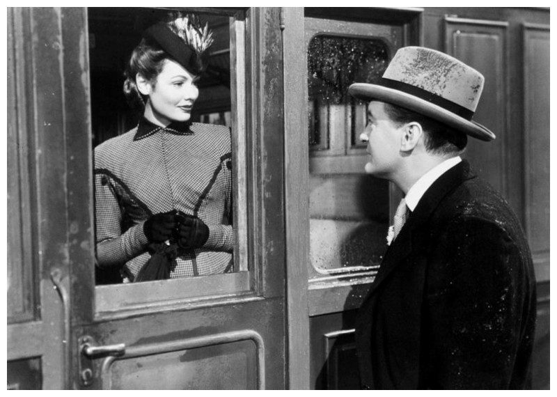 Lucy's corporeal boyfriend, Miles Fairley (George Sanders) turns out to be a lot less real than Captain Gregg