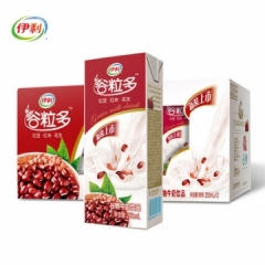 伊利牛奶 谷粒多红谷牛奶250ml*12盒