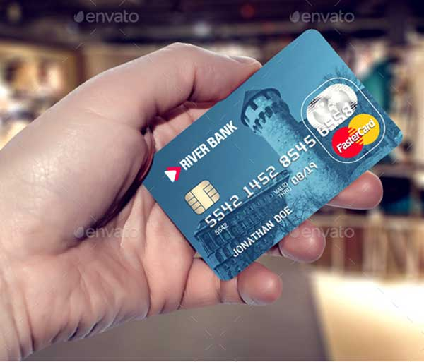 Credit-Bank-Card-Template-&-Mockup