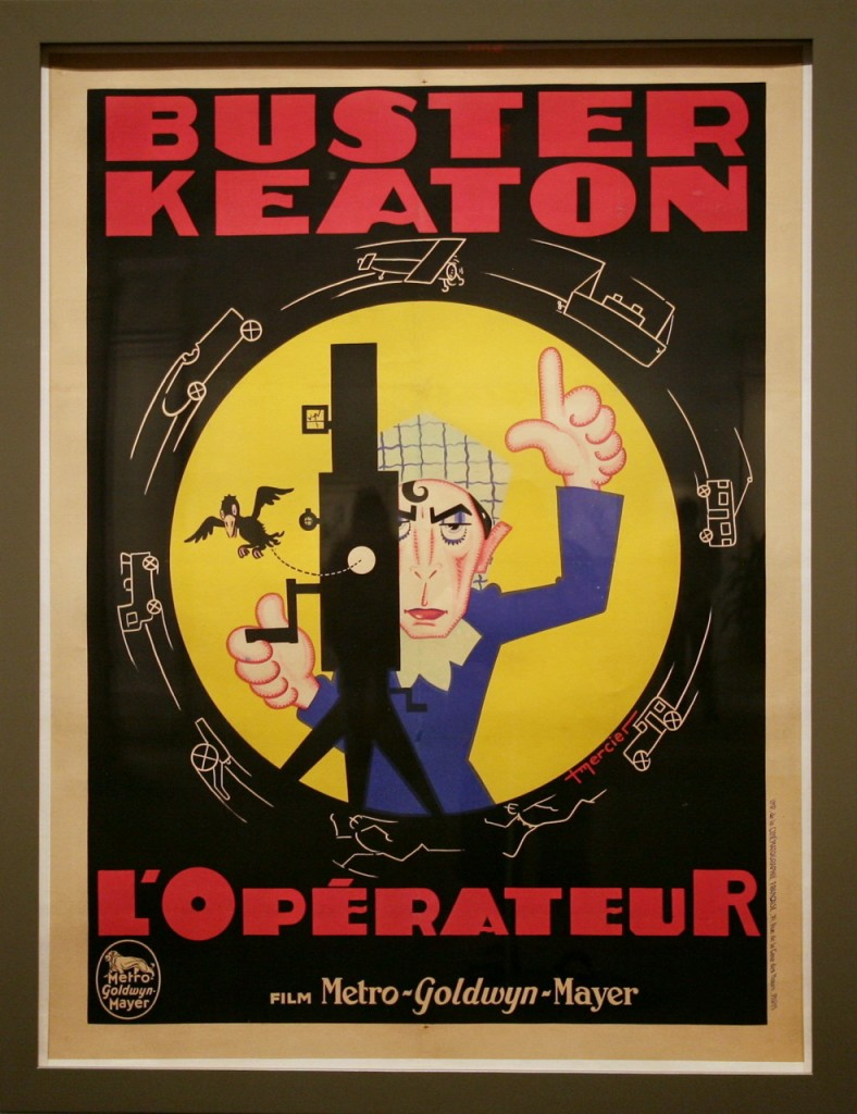 Buster Keaton French Cameraman poster