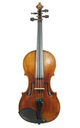Fine 18th century violin by Franz Knitl, Freising, 1789 (certificate Hieronymus Köstler)