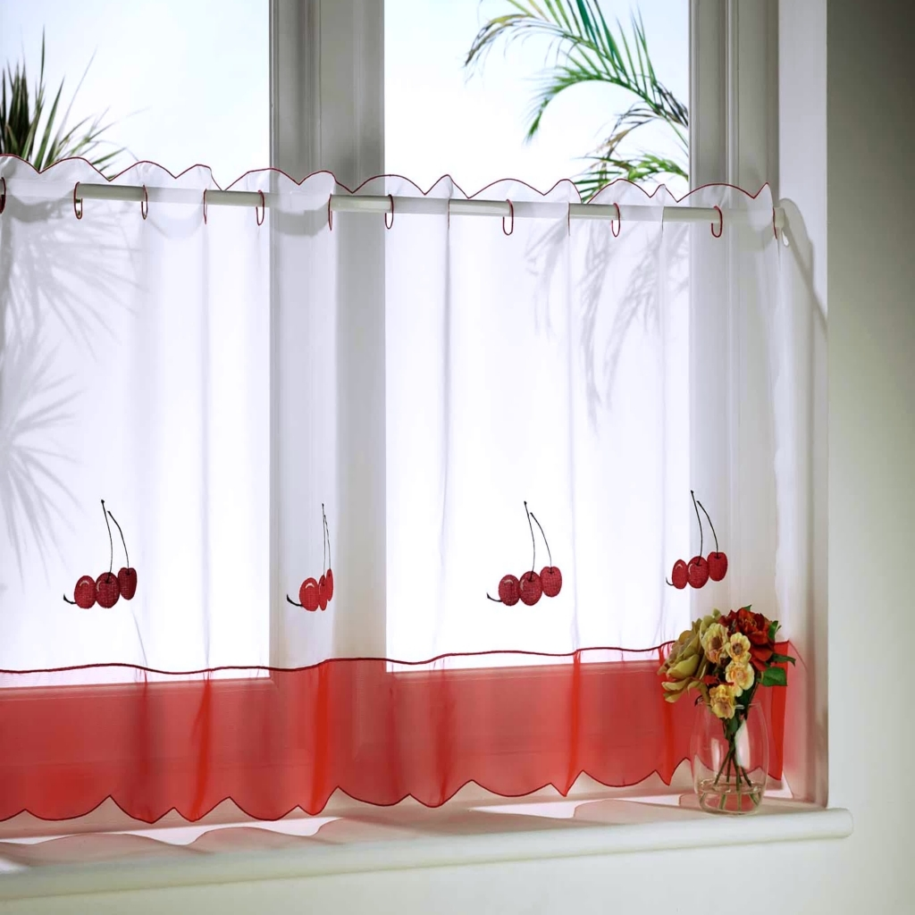 Image of: Kitchen Curtains Ideas