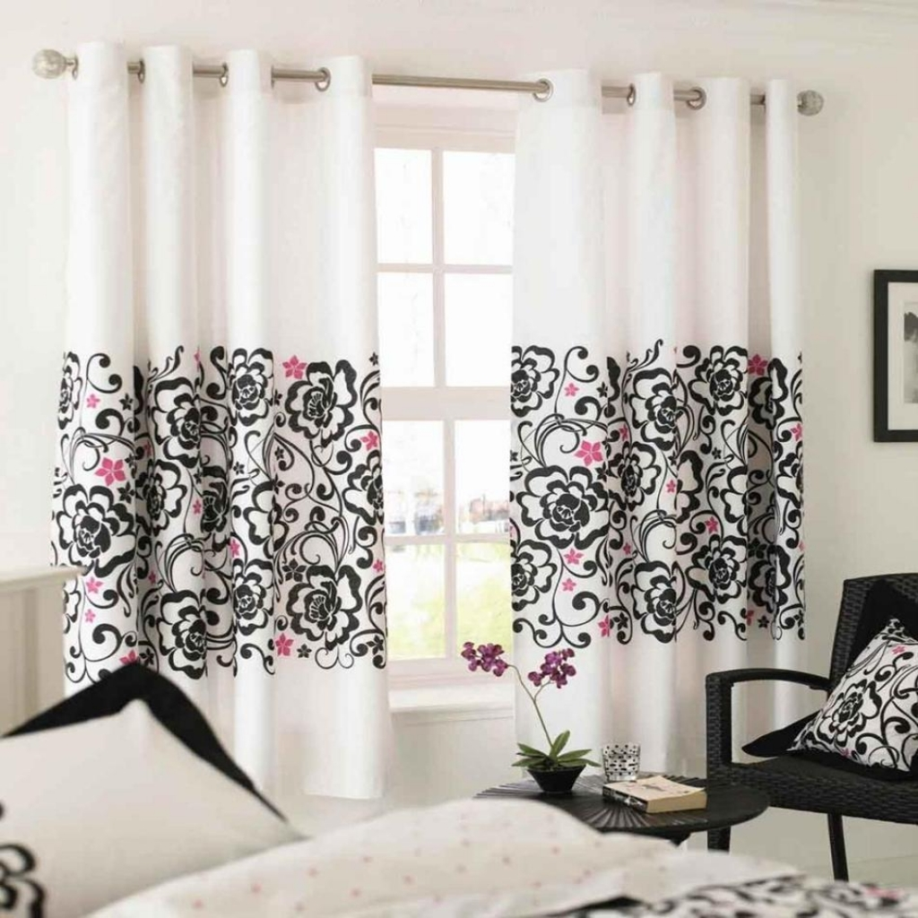 Image of: Modern Kitchen Curtains