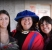 Melinda Cassidy, Kim and Laura Cassidy and Kim's convocation for her honourary PhD at SFU