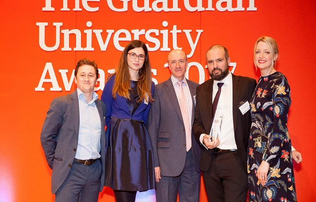 Queen Mary University of London wins Guardian University Award