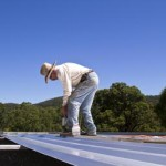How to Repair a Hole in a Metallic Roof System