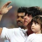 Shahrukh with his son AbRam