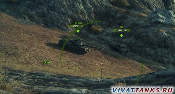 (0.9.14) Снайперский прицел для арты в World of Tanks