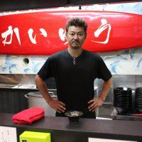 ラーメン海友 オーナーの小川さん