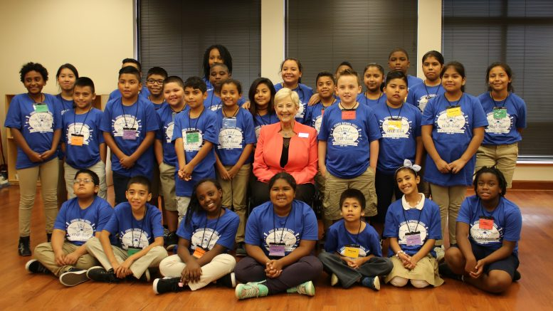 Argyle Elementary Students Soar at STARBASE Camp; First Lady Deal Visits with Argyle Students