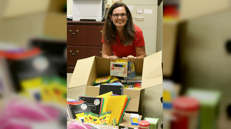 Cobb County School District Social Workers Receive Donation of School Supplies