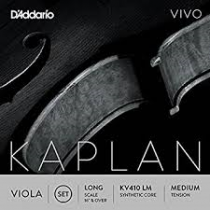 D'Addario KAPLAN VIVO VLA SET LONG MED