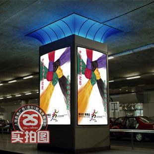商场柱 壁式超薄灯箱