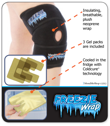Knee Injury Cold Compression Treatment