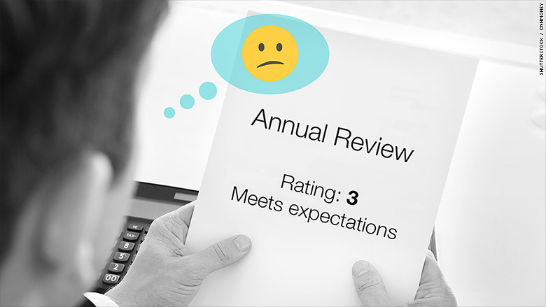 Goodbye yearly evaluation, see ya overall performance ratings
