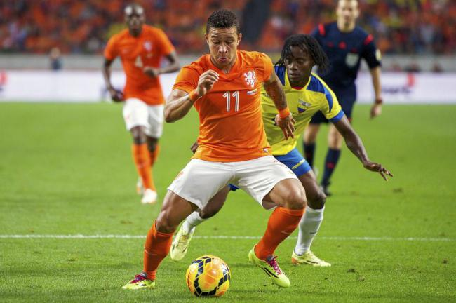 Memphis Depay has bags of pace (Picture: Getty Images)