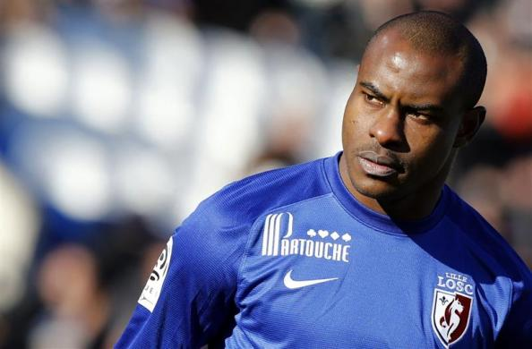 Vincent Enyeama's run of 11 consecutive clean sheets came to an end in Lille's 1-0 loss in Bordeaux. Photo: REUTERS/Regis Duvignau