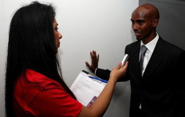 Vaishali interviews  double world and Olympic champion Mo Farah