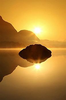 夕阳图片高清手机壁纸