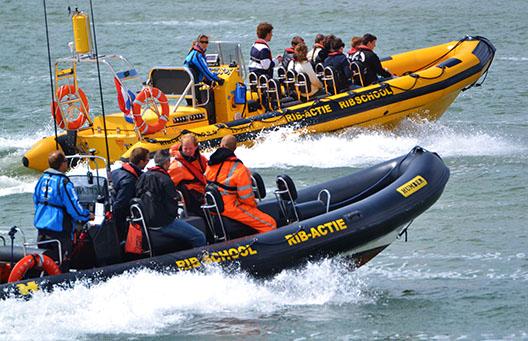Veiligheid powerboat varen