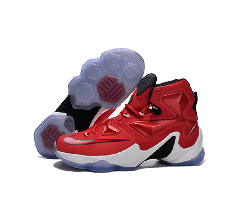 Nike Lebron James 13 Basketball Shoes red white