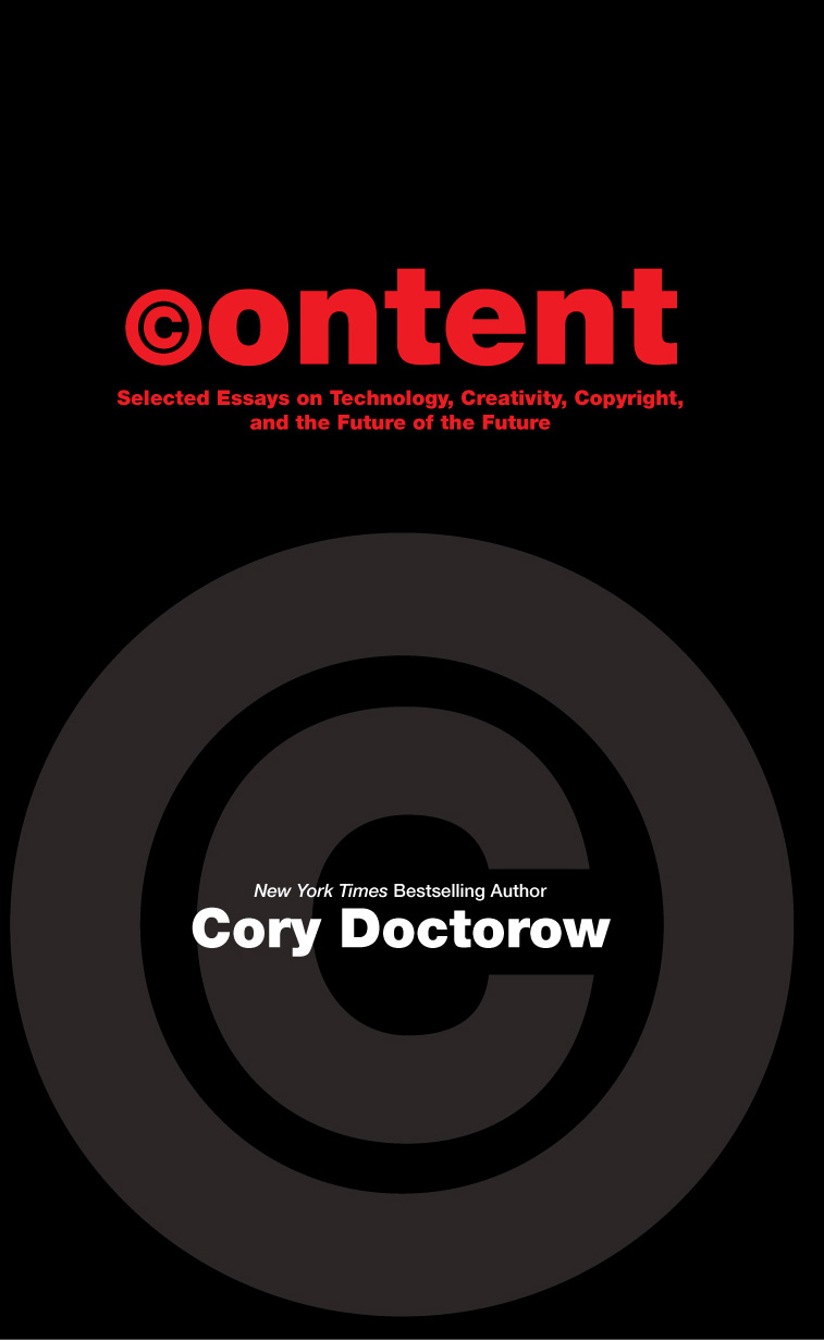 ''Content'' Front Cover