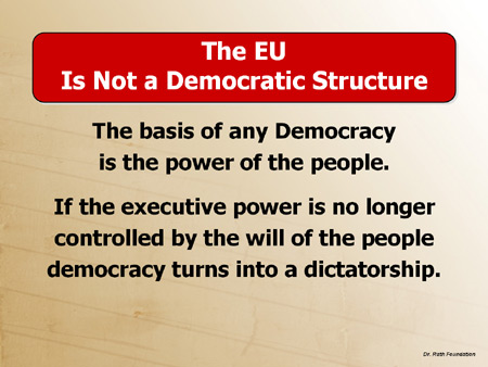 The EU is Not a Democratic Structure
