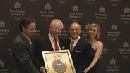 Lifetime Achivement Award der American Academy of Hospitality Sciences