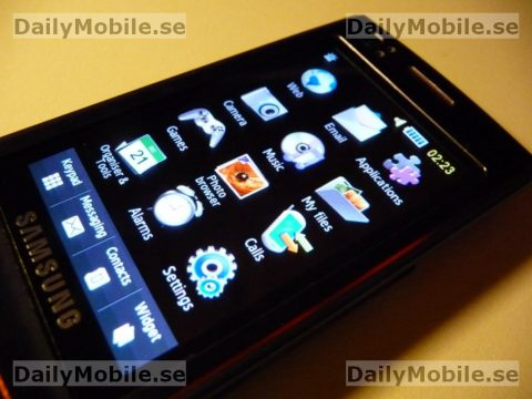 Samsung S8300 UltraTOUCH review