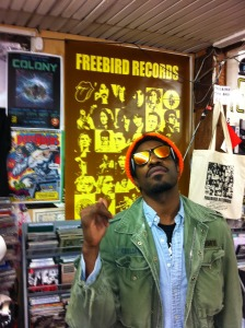 Andre3000 at Freebird Records