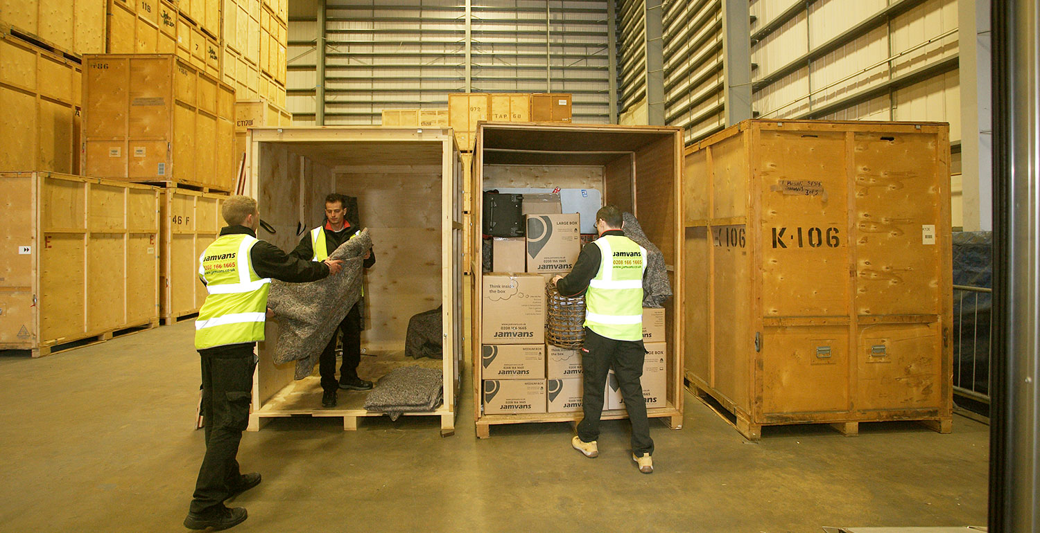 Storing items into our warehouse