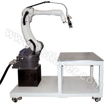 Robotic welder table