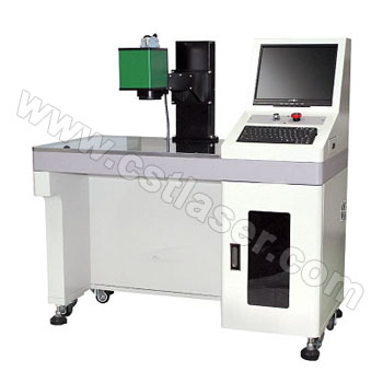 Galvanometer type welder table